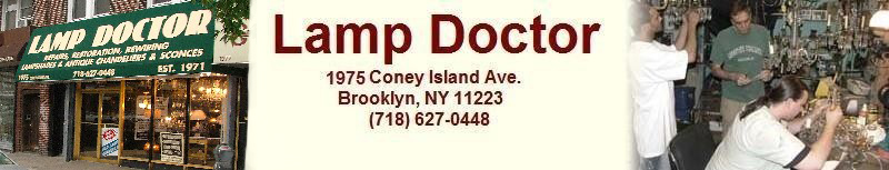 Lamp Doctor 1975 Coney Island Ave. Brooklyn, NY 11223 (718) 627-0448)
